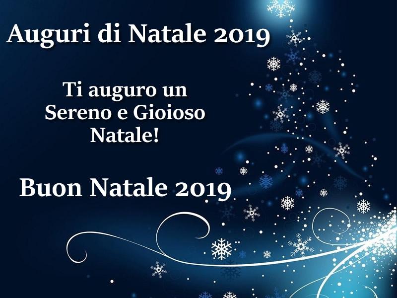 AUGURI DI NATALE 2019