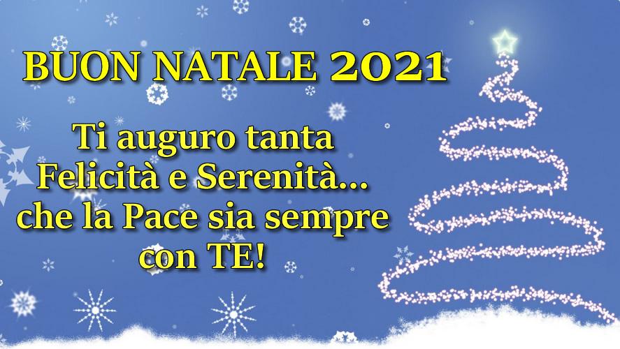 FRASE DI NATALE 2021